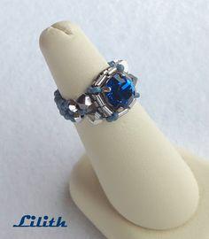 gyongyfűzés-gyűrű