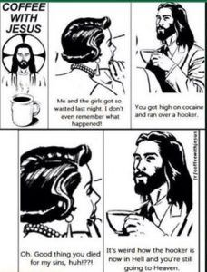 Funny pictures about Drinking Coffee With Jesus. Oh, and cool pics about Drinking Coffee With Jesus. Also, Drinking Coffee With Jesus photos. Coffee With Jesus, Ghetto People, Atheist Humor, Politics Humor, Religion Humor, Atheist Agnostic, Athiest, Christianity, Funny Memes