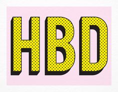 HBD card by Smarty Pants Paper Co. on Postable.com