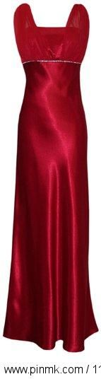 Satin Chiffon Prom Dress Holiday Formal Gown Crystals Full L