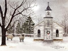 I Heard the Bells On Christmas Day Fine-Art Print by Billy Jacobs at…