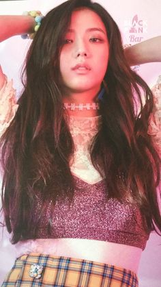 """[SCAN] 170829 Jisoo in BLACKPINK's Japan Debut Mini Album Photobook © BLACKPINK Bar """