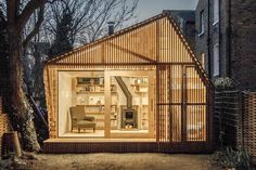 What is it about garden rooms that is so universally appealing? We're getting excited just thinking about the prospect of a seclude little spot somewhere, like this writer's shed in Hackney