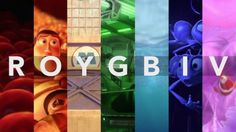 The use of color by Pixar
