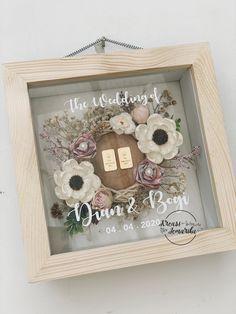 Engagement Decorations, Door Wreaths, Framed Art, Rustic Wedding, Wedding Stuff, Wedding Planner, Cricut, Simple, Creative