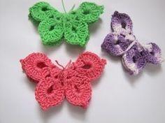 Schmetterlinge Häkeln Kostenlose Häkel Anleitung Häkeln