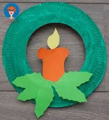 Image result for paper candle craft ideas for christmas