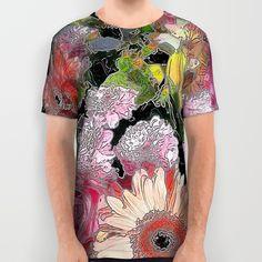 #Bouquet20150801 #AllOverPrintShirt #Jamfoto #Society6