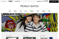PEARLY GATES | Web Design Clip 【Webデザインクリップ】
