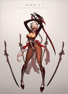 ✧ #characterconcepts ✧ 게임컨셉디자이너 오수경 OSUK'2 : 네이버 블로그