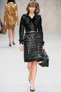 Burberry Prorsum Fall RTW 2013 via Style.com.