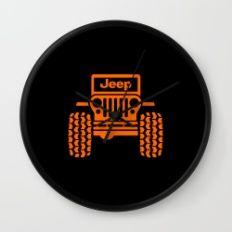 Jeep Wall Clock