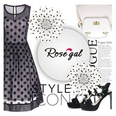"""""""polka dot"""" by ena-ena ❤ liked on Polyvore featuring vintage"""