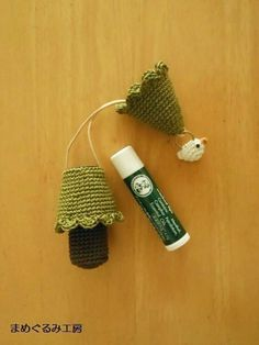crochet lip balm case