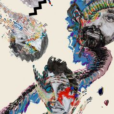 Artist: Animal Collective // Album: Painting With // Genre: Neo-Psycadelic, Psychadelic Pop, Electronic, Experimental // Favorites: Floridada, Lying in the Grass, Bagels in Kiev, The Burglars, Natural Selection, Recycling // Least favorites: Summing the Wretch // Score: 8/10 (Decent)
