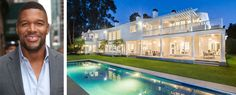 Michael Strahan Just Sold His Brentwood Mansion For $21.5 Million  - ELLEDecor.com WOW, gorgeous house! Although, I have to say that with him inside, every home would be just perfect ;)