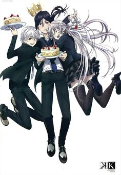 K: Project - Shiro , Kuroh & Neko