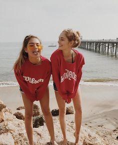 Imagen de beach, summer, and bff Bff Pics, Photos Bff, Cute Photos, Best Friend Goals Teen, Best Friend Fotos, Best Friend Pics, Cute Friend Photos, Best Friend Pictures Tumblr, Bff Pictures