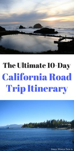 A California road trip itinerary including what to see, where to eat, and where to stay in San Francisco, Lake Tahoe, Yosemite, Death Valley, and Los Angeles #california #roadtrip