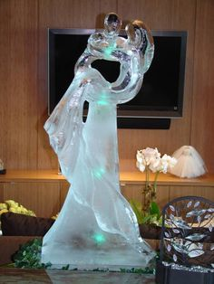 Wedding Ice Sculpture | ESCULTURAS EN HIELO | Pinterest