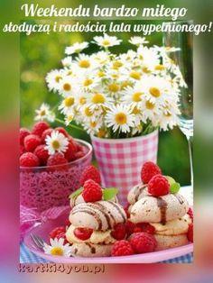 Meringue Cookies, Panna Cotta, Raspberry, Cereal, Pudding, Fruit, Breakfast, Ethnic Recipes, Desserts