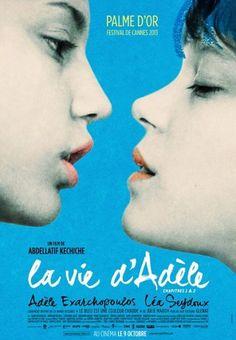 La Vie d'Adèle : Chapitres 1 et 2, souvent désigné simplement sous le titre La Vie d'Adèle, est une comédie dramatique belgo-hispano-française écrite, produite et réalisée par Abdellatif Kechiche, sortie en 2013. (Wikipédia) (Telus Télé Optik / Mars 2014)
