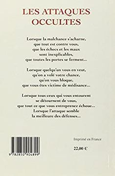 Amazon.fr - Les attaques occultes - Les reconnaître... - Guérin, Patrick - Livres Amazon Fr, Religion, Inner Strength, Names Of God, Jealousy, Occult, Livres, Quote
