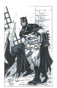 Batman by Marco Checchetto