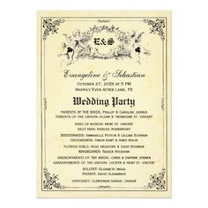 Shop Fairy Tale Storybook Wedding Programs created by RenImasa. Illustrated Wedding Invitations, Vintage Wedding Invitations, Wedding Invitation Design, Fairy Tale Story Book, Fairy Tale Theme, Fairy Tales, Romantic Wedding Colors, Romantic Weddings, Storybook Wedding