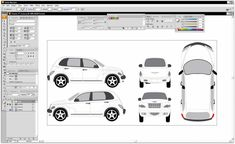 vehicle wrap template