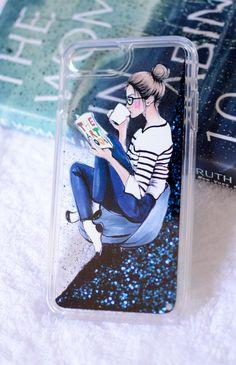 Bookworm iPhone Case, design by anna hammer