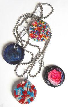 Amazing Mold Putty: Yummy Candy Pendants!
