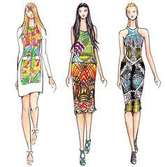Runway Illustration & Design Flats by naomi alessandra at Coroflot.com