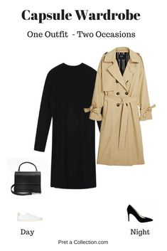 How To Style: The Same Outfit For Two Occasions - Pret-a-Collection Business Formal Women, Business Casual Attire, Business Outfit, Business Fashion, Professional Attire, Fall Capsule Wardrobe, Wardrobe Basics, Office Wardrobe, Chic Outfits