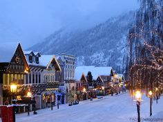 This seems like it's from another country but it's not--it's just Washington State! Leavenworth, WA