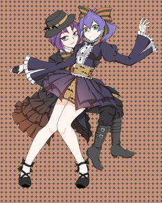 Yuri and Serena