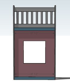 Ana White   Build a Playhouse Loft Bed   Free and Easy DIY Project and Furniture Plans