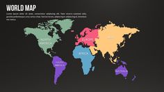 World infographic keynote map keynote maps pinterest world world map with country keynote presentation gumiabroncs Image collections