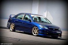 Kinda a Subie inspired EM2 i think, but an awesome sedan!
