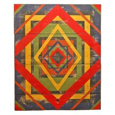 1stdibs - Anonymous Abstract Geometric Painted Board explore items from 1,700  global dealers at 1stdibs.com