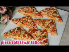 PIZZA ROTI TAWAR TEFLON murah mudah - YouTube Hawaiian Pizza, Vegetable Pizza, Food And Drink, Banana, Snacks, Vegetables, Youtube, Appetizers, Bananas