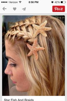 Under the sea hairstyle