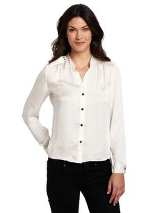 Kenneth Cole Women's Petite Double Flap Shirt Kenneth Cole. $29.97. Buttons down front. polyester. Machine Wash. Long sleeve. Made in China