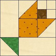 Block of Day for February 22, 2014 - Buttercup Nosegay