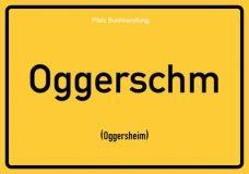 Oggerschm (Oggersheim) - Pfälzisch Postkarte