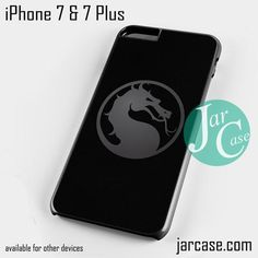 Mortal Combat Logo Phone case for iPhone 7 and 7 Plus