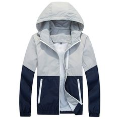 >> Click to Buy << 2017 Spring Men jackets and coats Summer Hooded Couple Casual sun protection Jackets Quick-dry Sunscreen Clothing #Affiliate