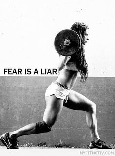 Crush yr insecurities - http://myfitmotiv.com/crush-yr-insecurities/ #fitness #workout #motivation #training #crossfit