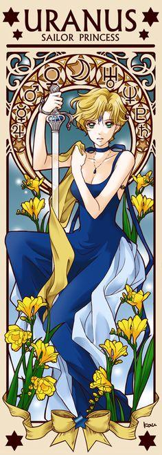 Princess Sailor Uranus by Tsuki-kioku. Sailor Moon