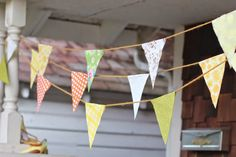 Tutorial Tuesday: How to make easy no sew bunting